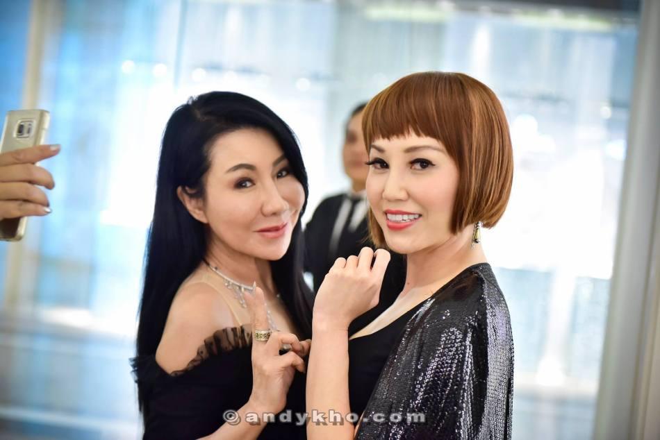 Datin Maylene and Corinna Tan
