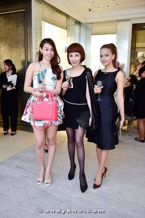 Corinna Tan with Ong Evonne and Stephanie Lim