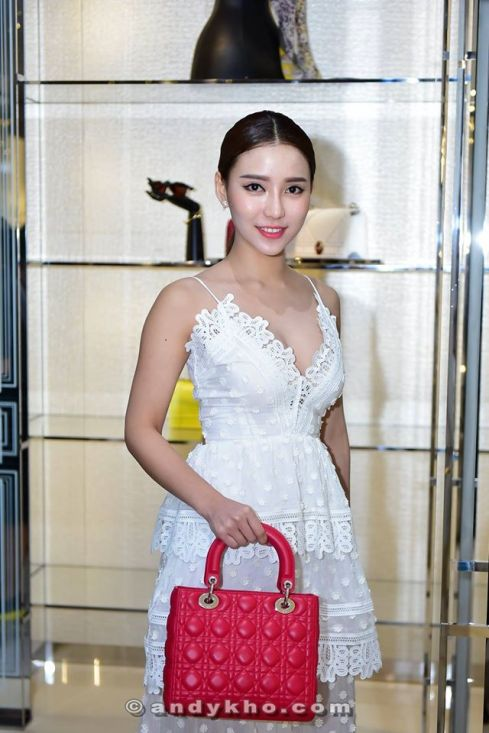 Venice Min with a Dior bag