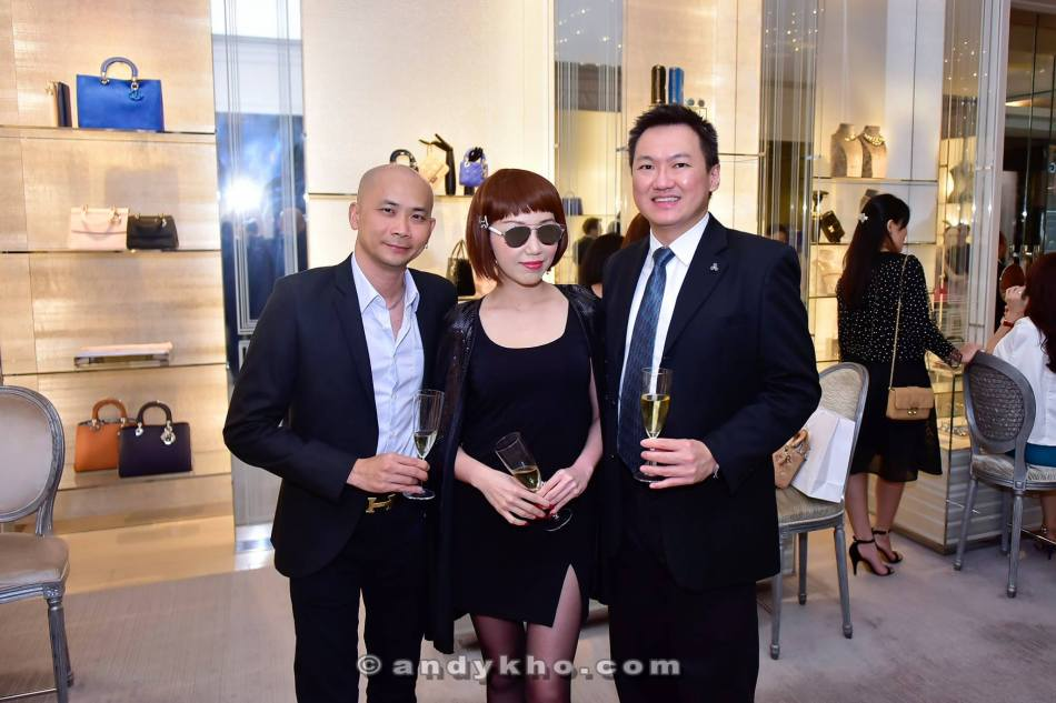 Andy and me with socialite Corinna Tan
