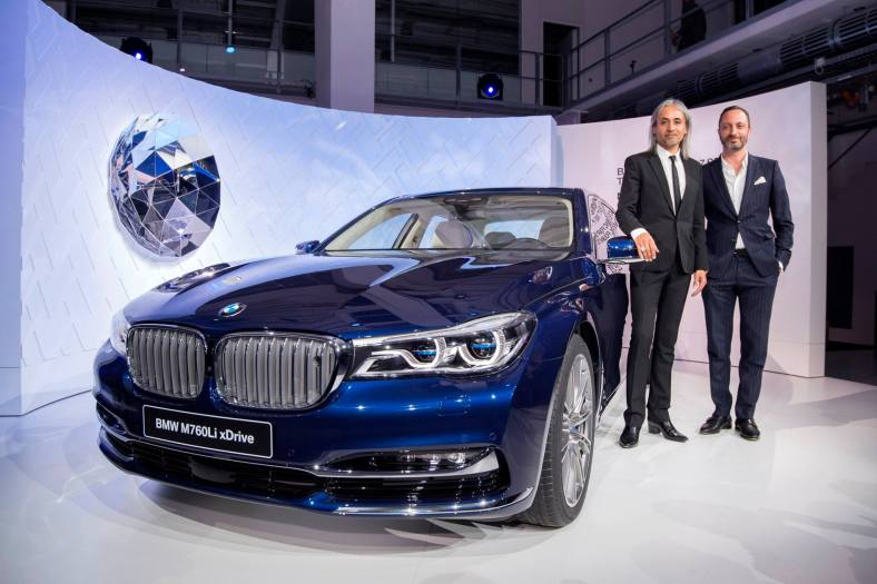 Montblanc Creative Director, Zaim Kamal & Head of BMW Design, Karim Habib