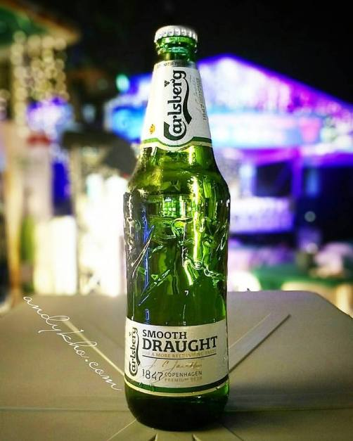 Pic of the new Carlsberg Smooth. Shot by Andy Kho using the Lenovo Vibe Shot