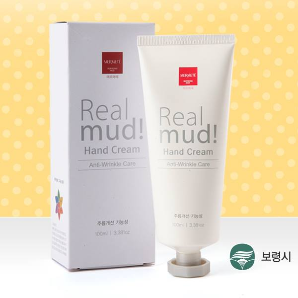Boryeong Mud Real Mud Hand Cream