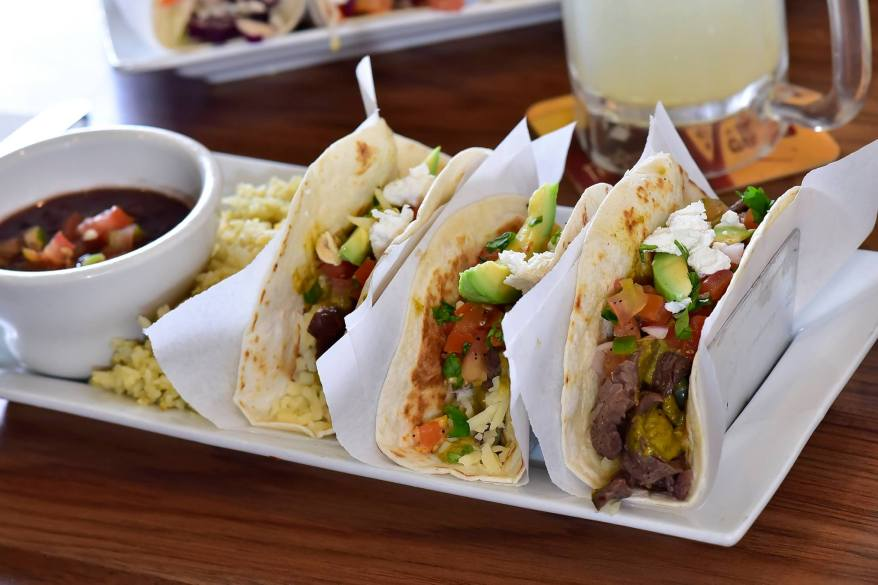 Being the beef lover that I am, my favourite was definitely the grilled beef tacos