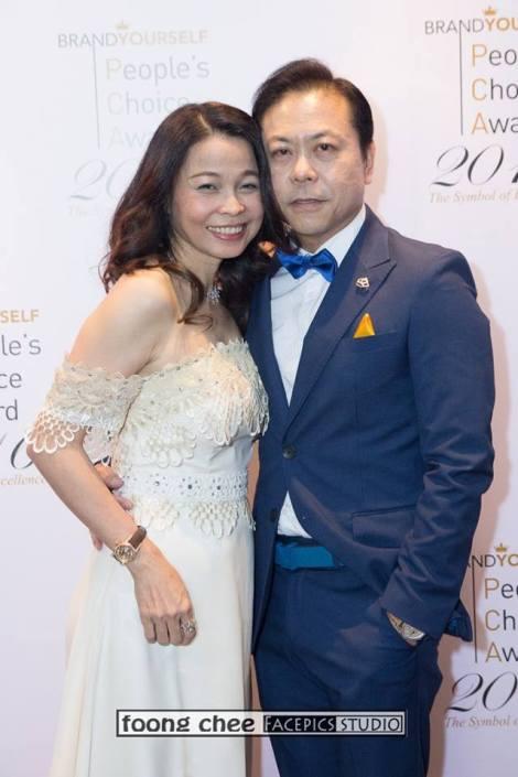 Datin Sri Joey Low and Dato Sri Jackie Tor