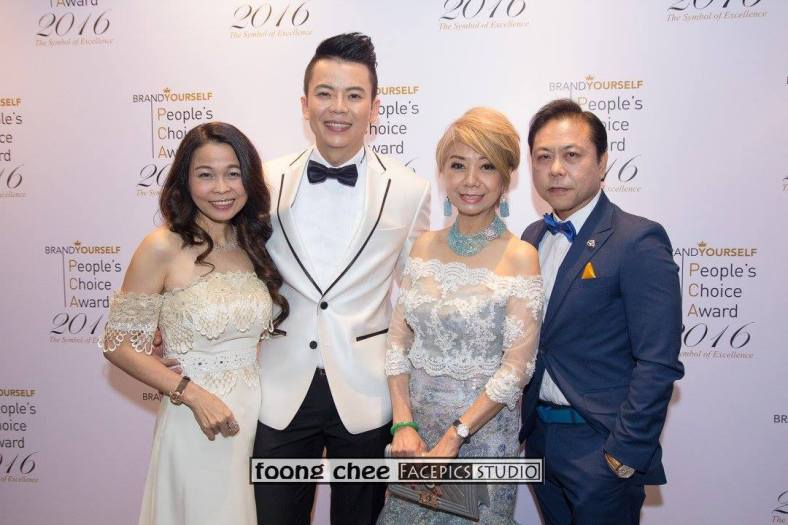 Datin Sri Joey Low, Steve Wee, Datin Winnie Loo and Dato Sri Jackie Tor