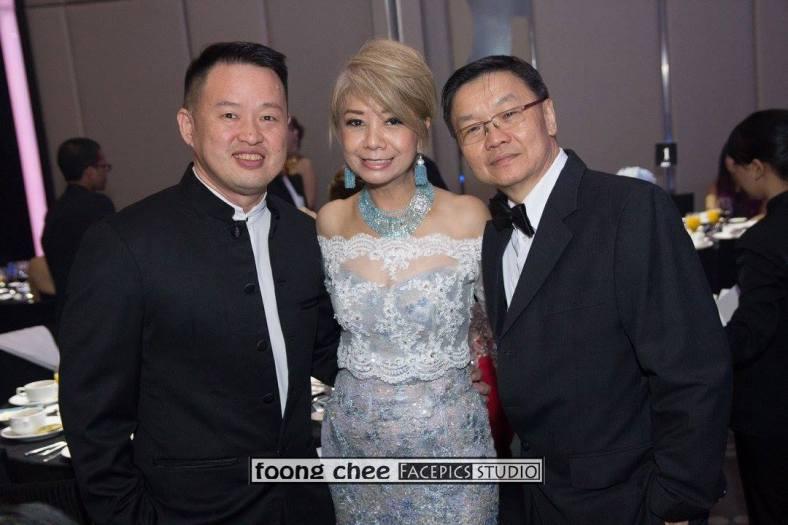 Datin Winnie Loo with Dato Raymond Liew of McMillan Woods and friend