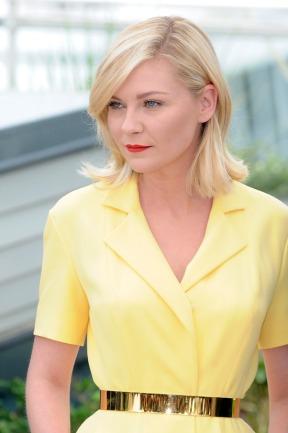 Kirsten Dunst Cannes Film Festival 2016 Dior Yellow Dress (4)