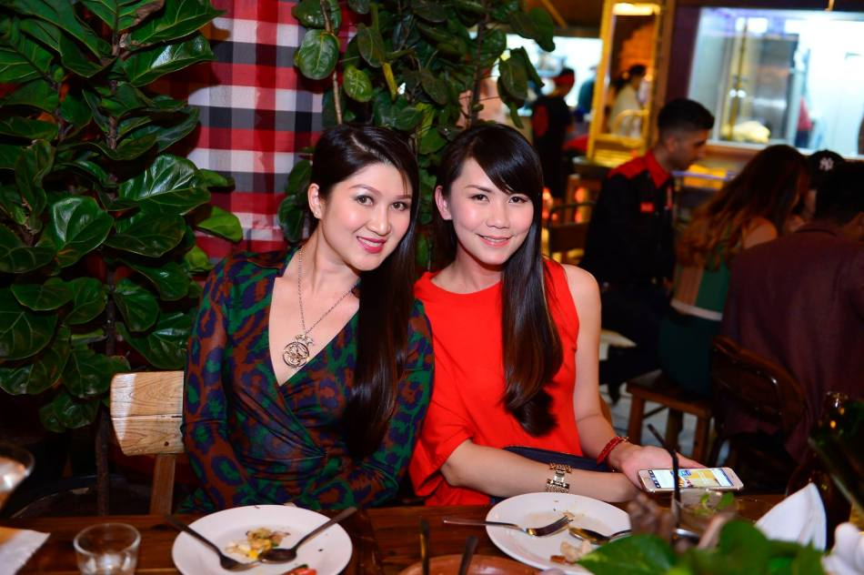 Yukisan with her friend