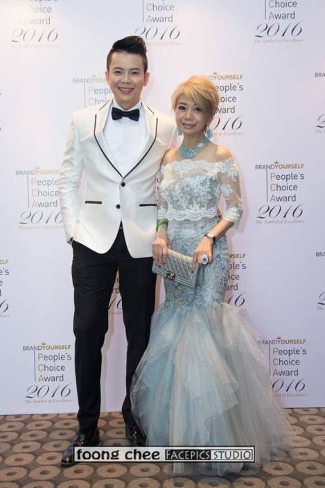 Steve Wee and Datin Winnie Loo