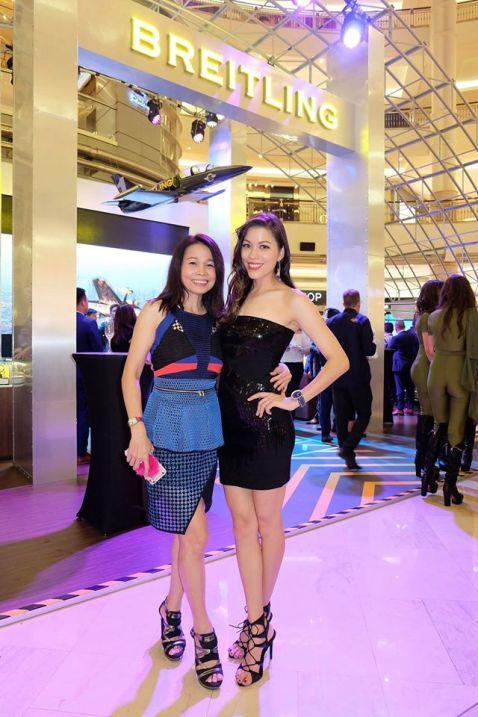 Datin Sri Joey Low with Nadia Heng