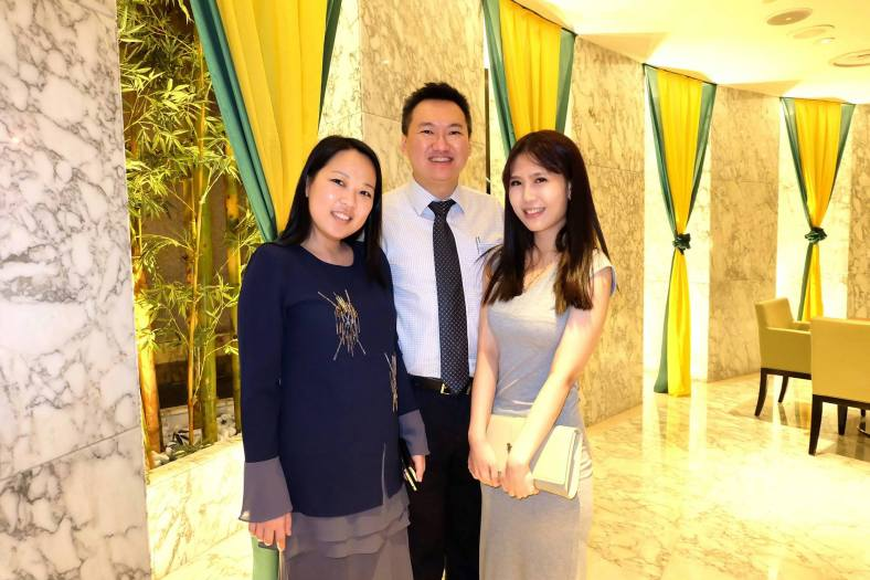 With Melanie, and Yen from Westin KL
