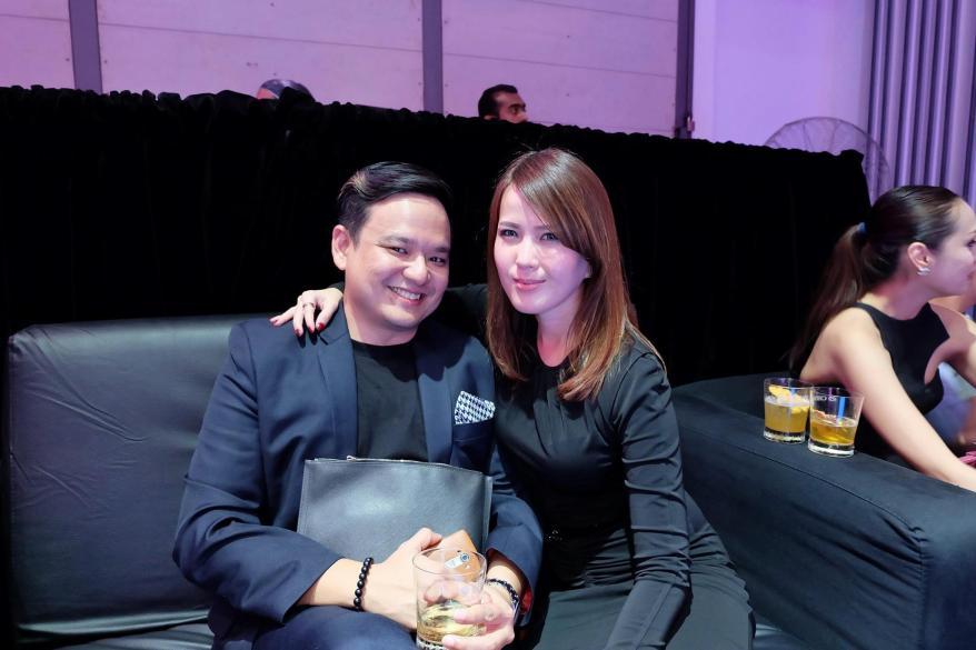 My old school mate Jwan Heah who's dating my friend Joey Tan. Small world...