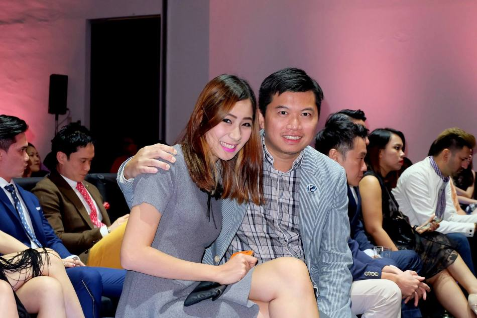 Cecilia Yong and John Teo