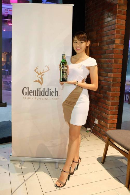 Glenfiddich Promoter Girl
