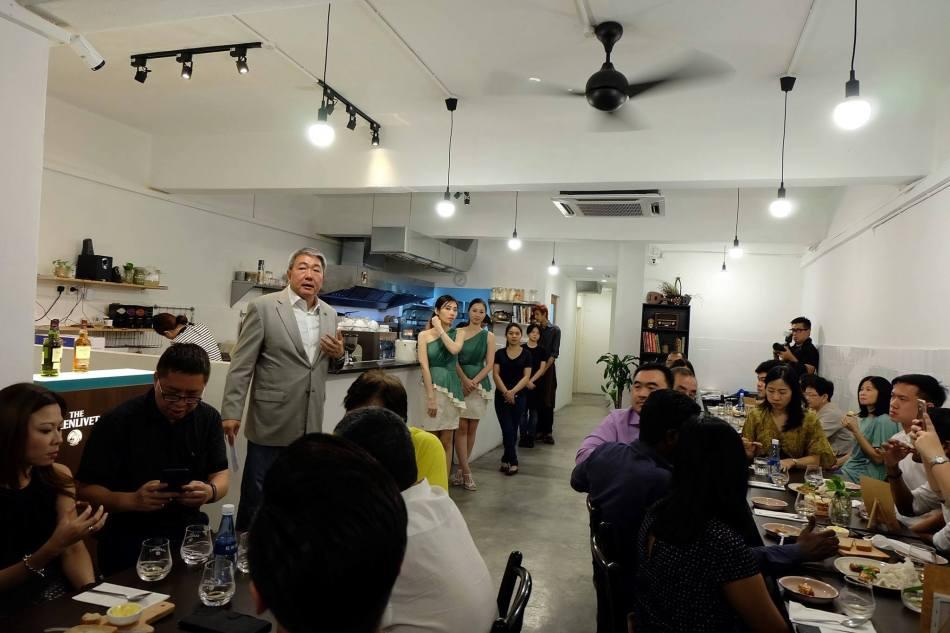 Glenlivet brand ambassador Lionel was on hand to share with us some details about the Glenlivet whiskies