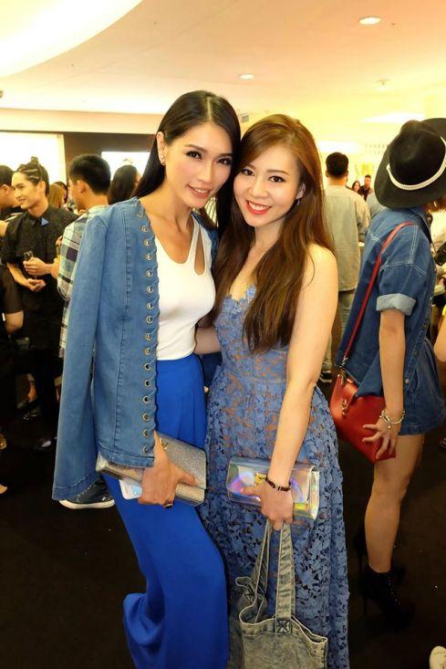 Rachel with Amber Chia