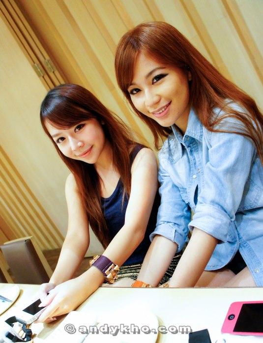 Chenelle Loh and Karen Kho