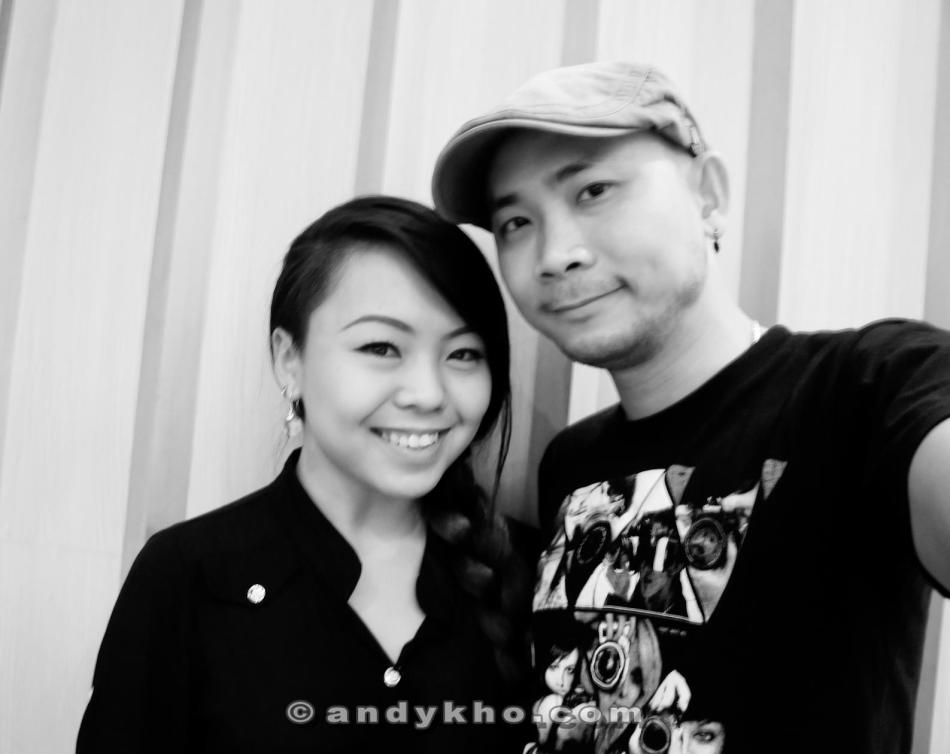 Ashley Mah and Andy Kho