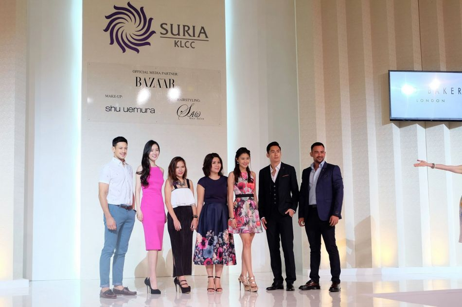Group photo of Peter Davis, Joanne Yew, Kiki Lee (Advertising & Promotions Manager of RSH Malaysia), Eileen Hah (Brand Manager of Ted Baker Malaysia), Denise Camellia, JC Chee and Shaarnaz Ahmad