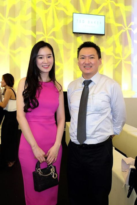 With the gorgeous Joanne Yew of The Journey fame