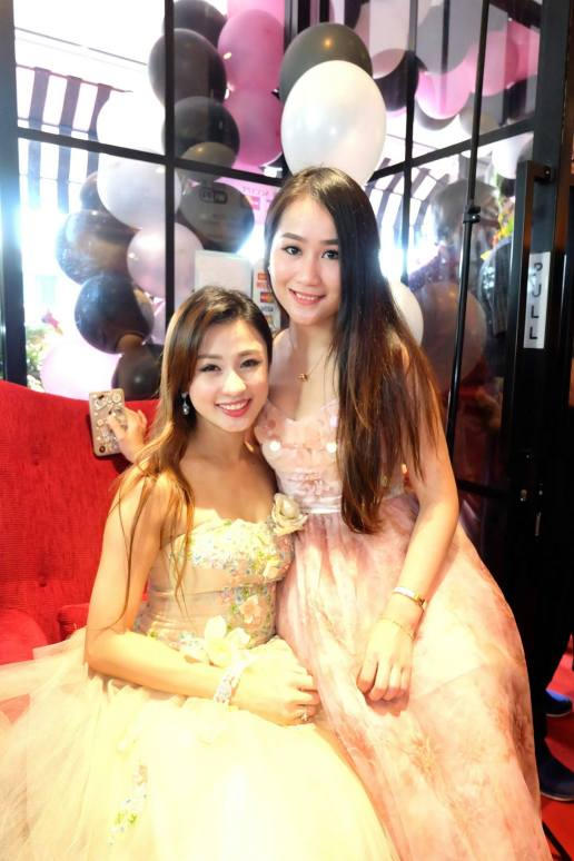 Carrie Lee and Jessy Phang