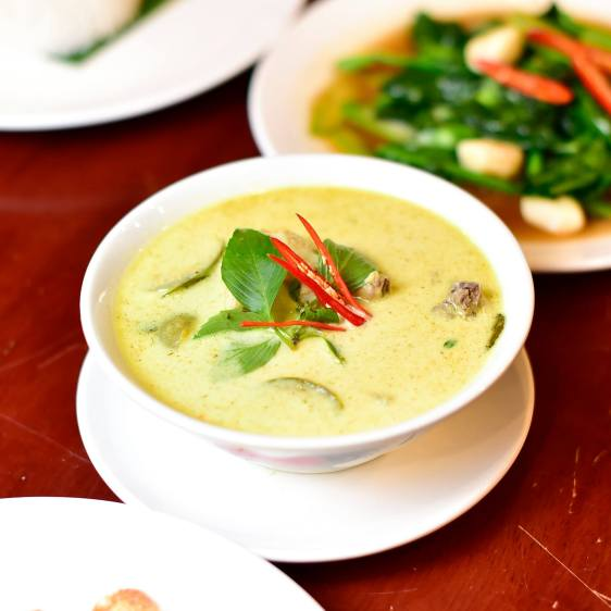 My favourite was the Thai Green Curry!