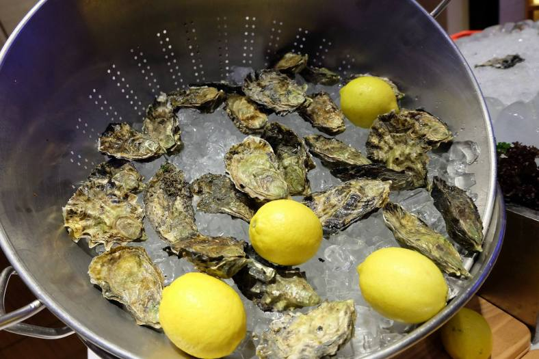 Delicious oysters!