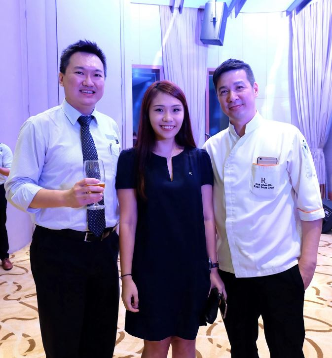 With Joyce and Chef Kok