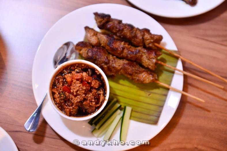 Pork Satay - RM 22