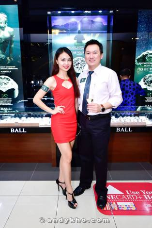 With Adelina Chan