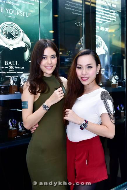 Chloe Chen and Mae Long
