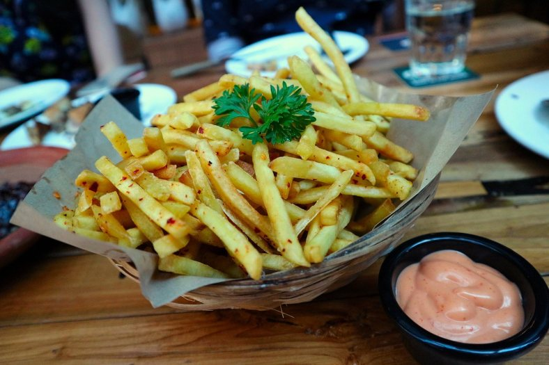 Red Hot Chili Pepper Truffle Fries