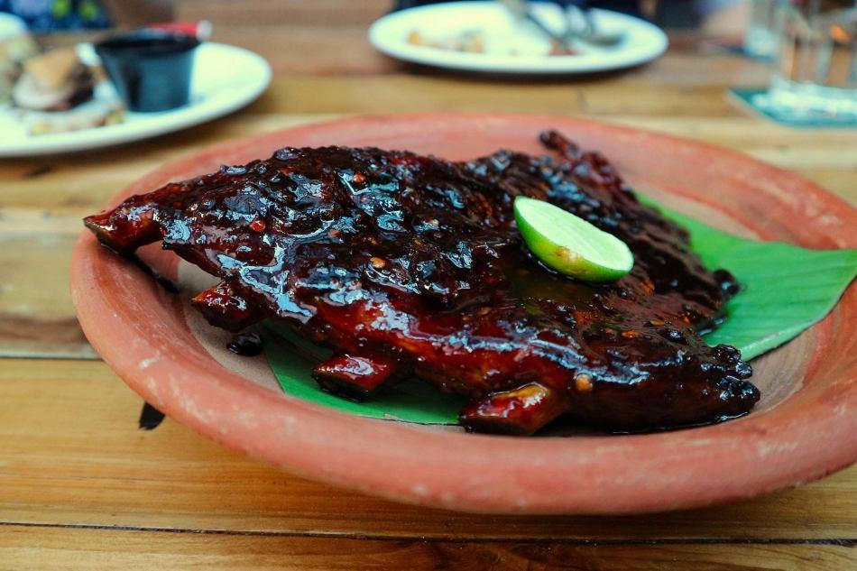 Naughty Nuri's Spicy BBQ Pork Ribs
