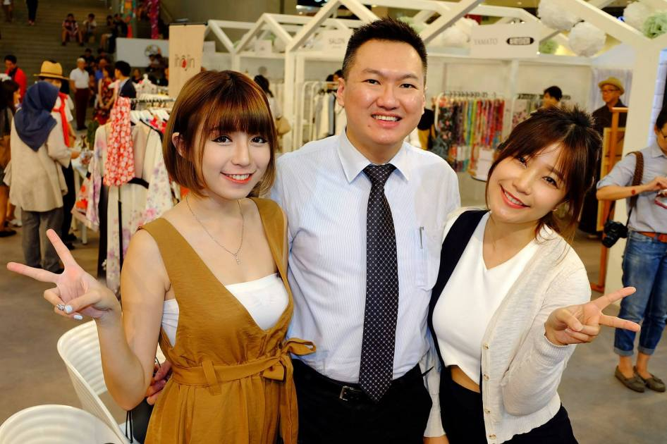 With Miko Wong and Ee Fee