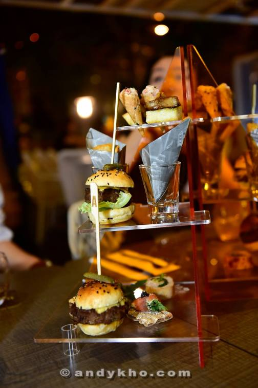My fav was the foie gras canapes