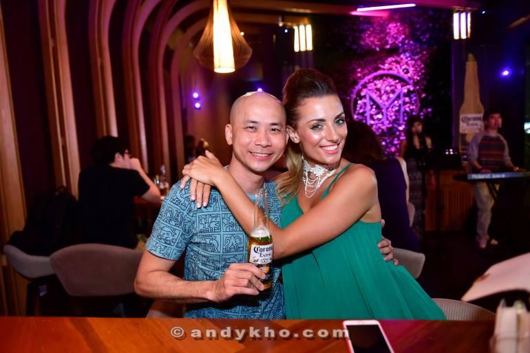 Andy Kho and Zoe