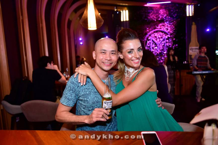 Andy Kho and Zoe