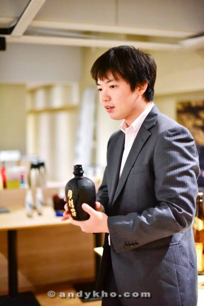Masahiro Nagata of Gekkeikan Sake
