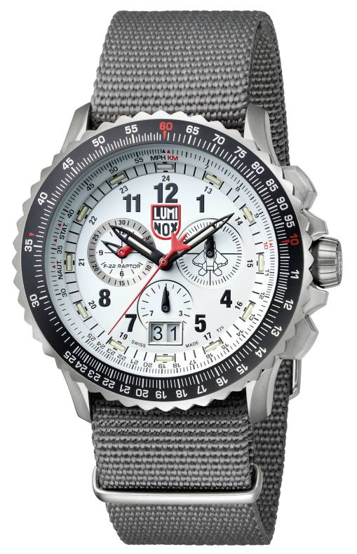 Luminox F-22 Raptor Chronograph (11)