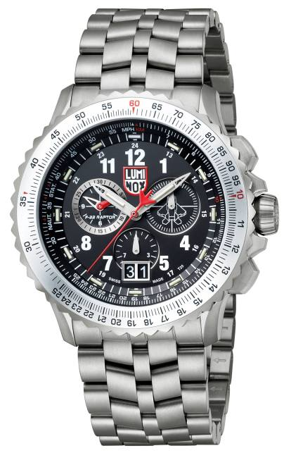 Luminox F-22 Raptor Chronograph (2)