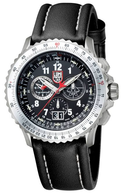 Luminox F-22 Raptor Chronograph (5)