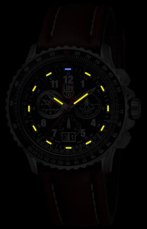 Luminox F-22 Raptor Chronograph (7)