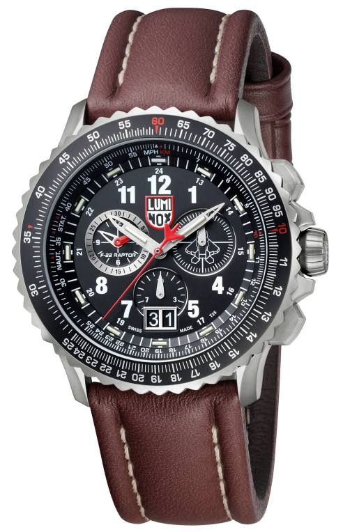 Luminox F-22 Raptor Chronograph (8)