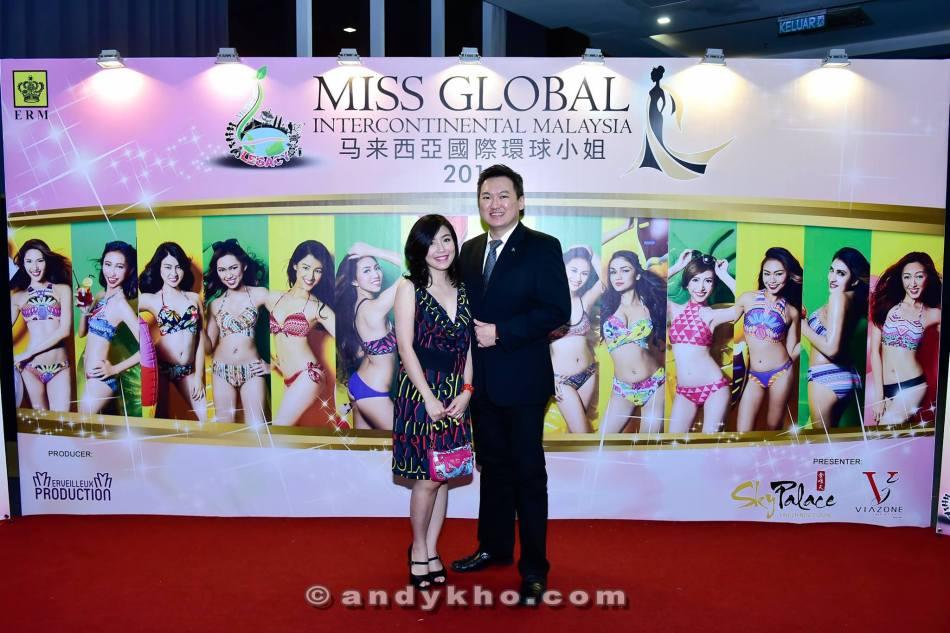 With Yee Yee at the photowall