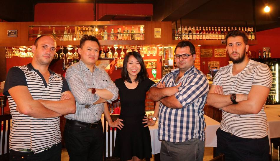 A group pic with the young and vibrant team behind Rendez-vous Bangsar
