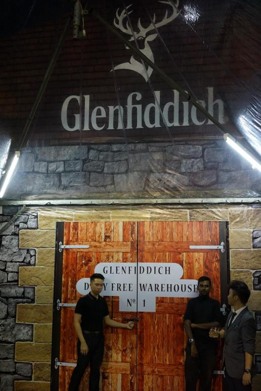 "The entrance to the ""distillery"""