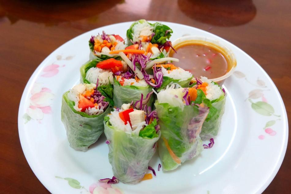 Fresh vietnamese spring rolls -RM16.00
