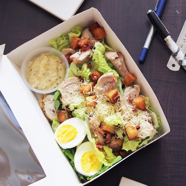 Classic Caesar Salad with Grilled Chicken - RM16.00