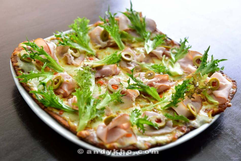 Smoked Pork Loin Pizza - RM39.00